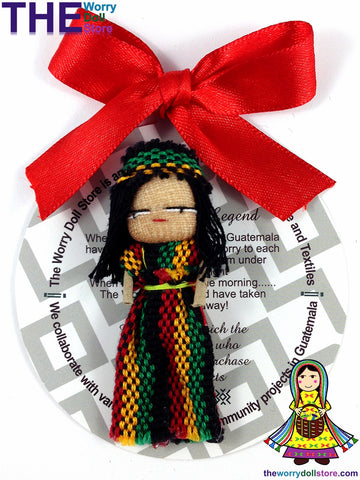 Rasta Worry Doll Boy 5cm