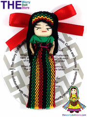 Rasta Worry Doll Girl 8cm