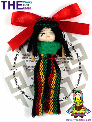 Rasta Worry Doll Boy 8cm