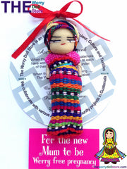 Worry Dolls Mum to Be 8cm