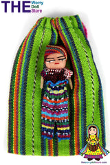 guatemalan worry dolls 8cms boy