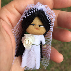 Bride Worry Doll