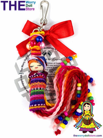 Worry Doll Mum To Be Charm