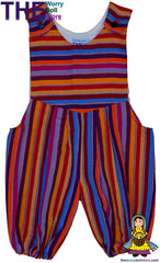 Overall multi color