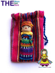 Worry Dolls Girl and Pouch