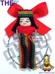 rasta worry dolls magnet