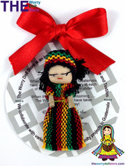 Rasta Worry Doll Girl 5cm