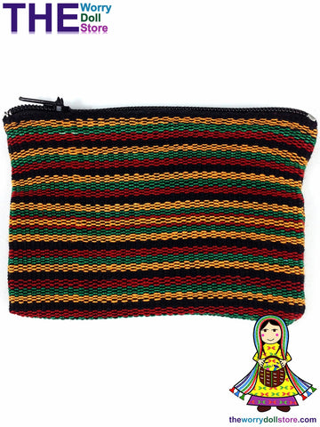 Rasta Zip Coin Purse Handwoven australia