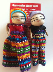 Worry Dolls Boy and Girl 8cm