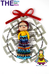 Worry Doll Boy 5cm with Story