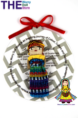Worry Doll Girl 5cm with Story