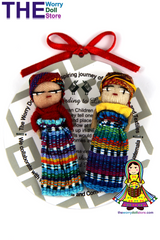 Worry Dolls Girl & Boy Set 5cm