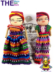 Worry Dolls Girl & Boy Set 8cm