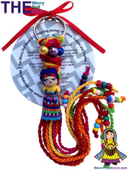 worry dolls keyrings for girls