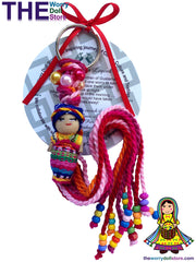 worry dolls mum to be keyrings