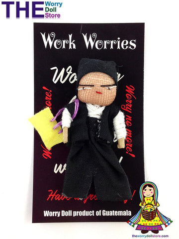 Worry Dolls Boy Work Worries