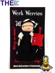 Worry Dolls Girl Work Worries