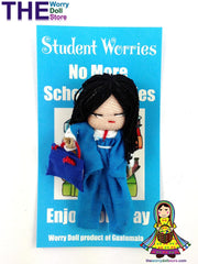Worry Dolls Boy Student Worries
