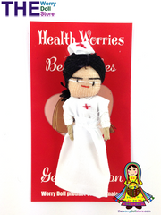 Worry Dolls Girl Health Worries