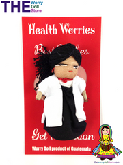 Worry Dolls Girl Health Worries Doctor