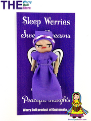 Worry Dolls Girl Sleep Worries