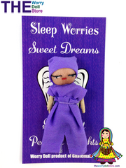 worry dolls sleep worries from Guatemala