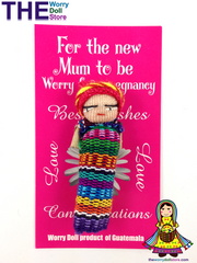 Worry Dolls Mum to Be Pregnancy Worry Doll