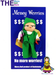 Worry Dolls Money Worries Boy