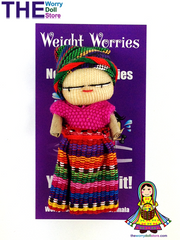 Worry Dolls Weight Worries Girl are used as protective amulets or healing talismans