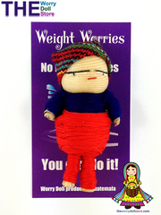 weight worry doll handmade by guatemalan artisans are used as protective amulets or healing talismans