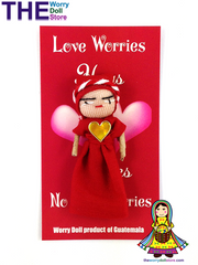Worry Dolls Girl Love Worries