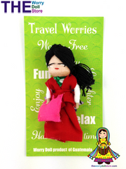 Worry Dolls Travel Worries for girls used as amulets to discharge worries