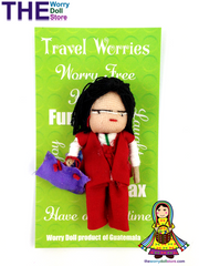 worry dolls travel worries handmade in Guatemala