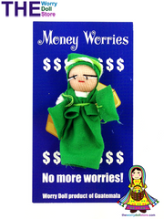 Worry Dolls Money Worries Girl