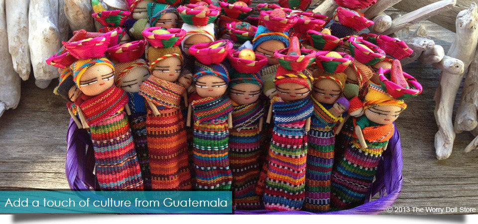 Mayan Worry Dolls Handmade in Guatemala