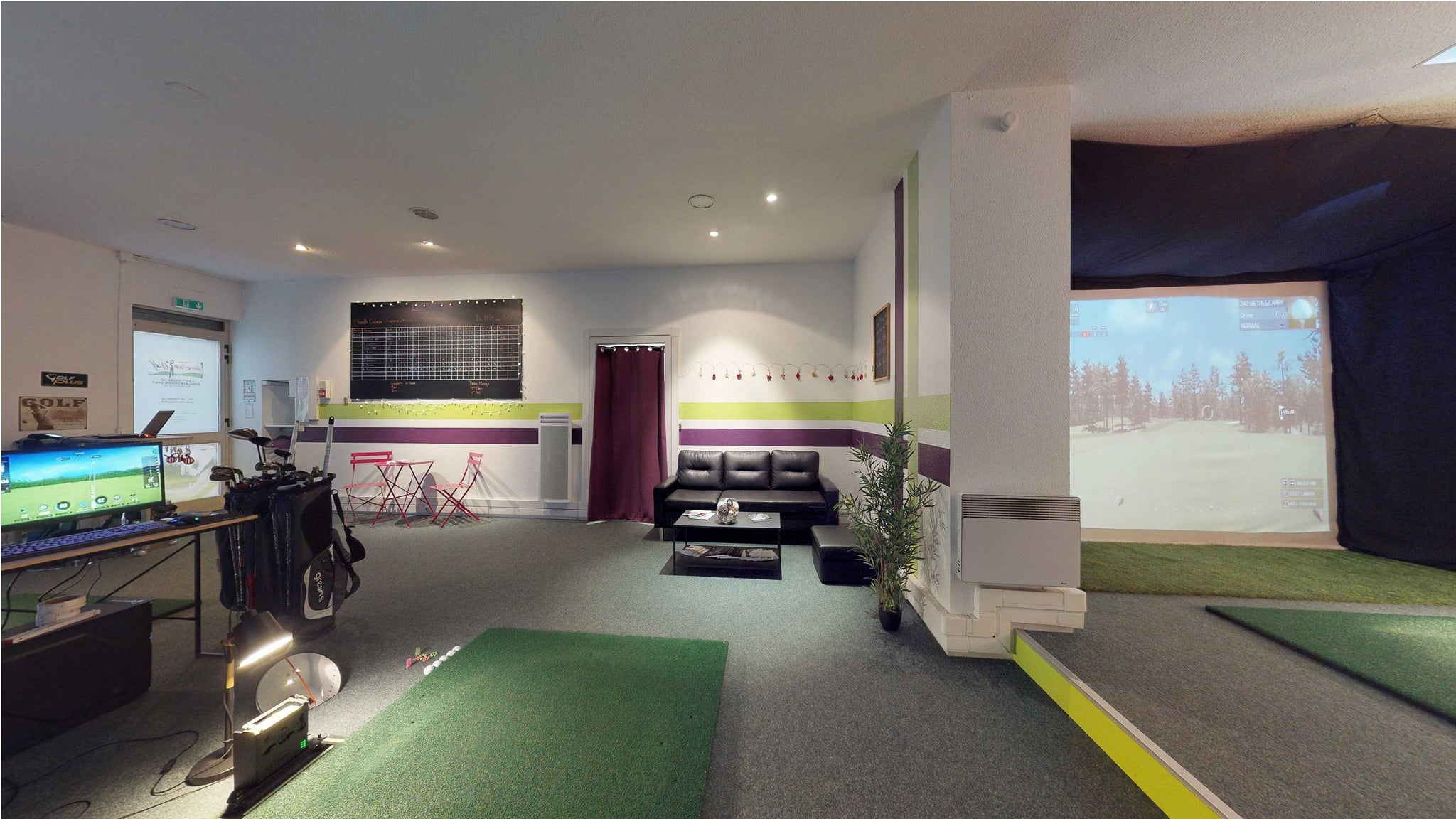 golf indoor toulouse, simulateur de golf toulouse, skytrak