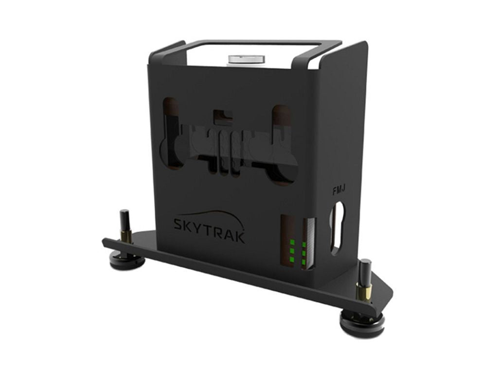 boitier protection skytrak, metal case skytrak, here we golf