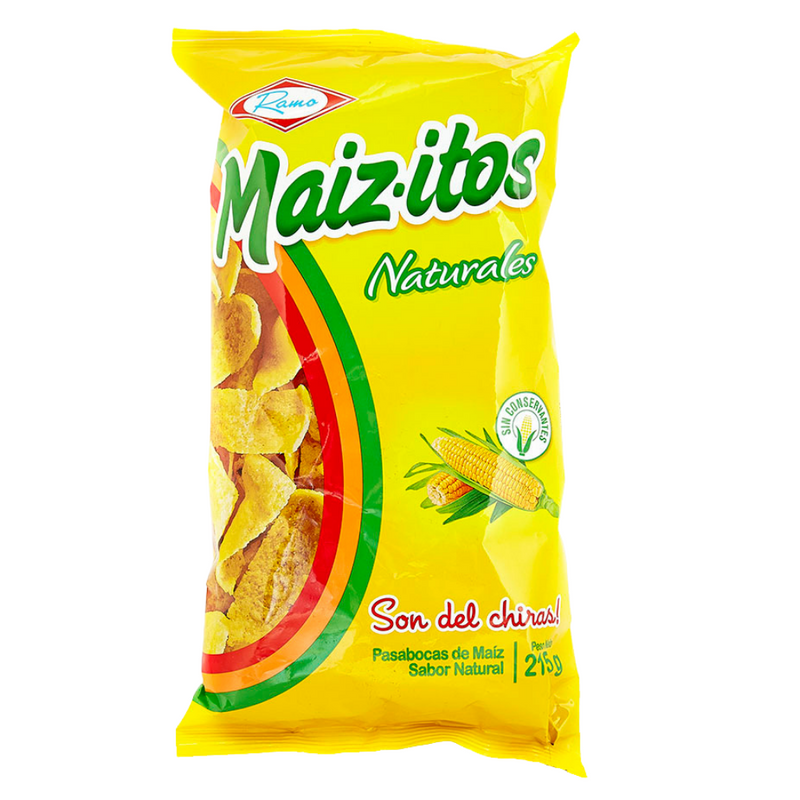 Maizitos Natural Corn Chips Ramo 215g