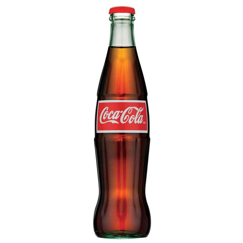 Mexican Coca-Cola Glass Bottle - 355ml