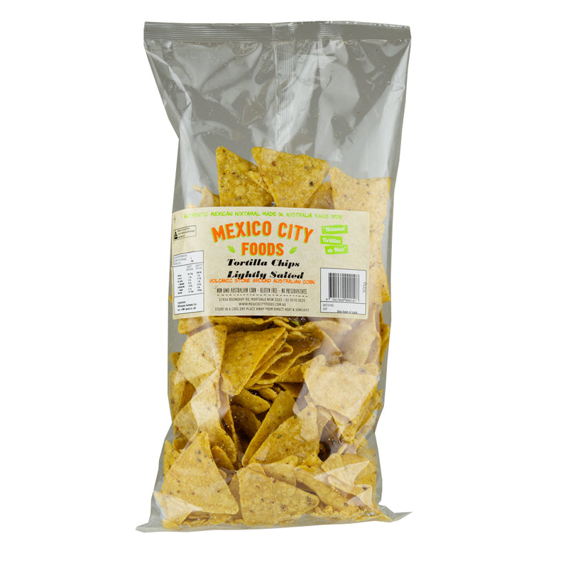 Tortilla Chips Natural /  Tortilla Nachos (300 grams)