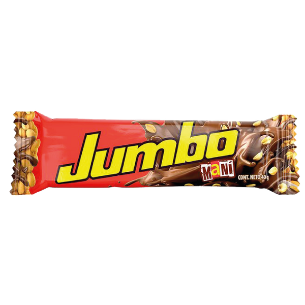 Chocolatina Jumbo Mani / Milk Chocolate with Peanuts