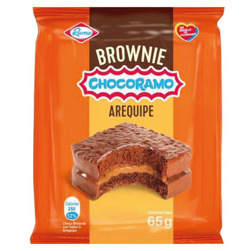 Brownie with Arequipe (Dulce de Leche) -65g