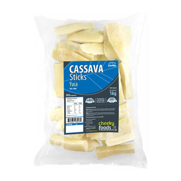 Cassava Sticks / Yuca Natural  1KG