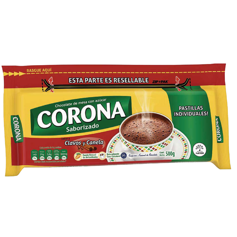 Corona Hot Chocolate with Cloves & Cinnamon (500g)
