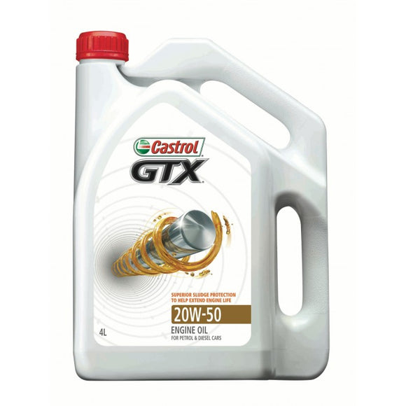 Castrol Motor Engine Oil - GTX 20W50