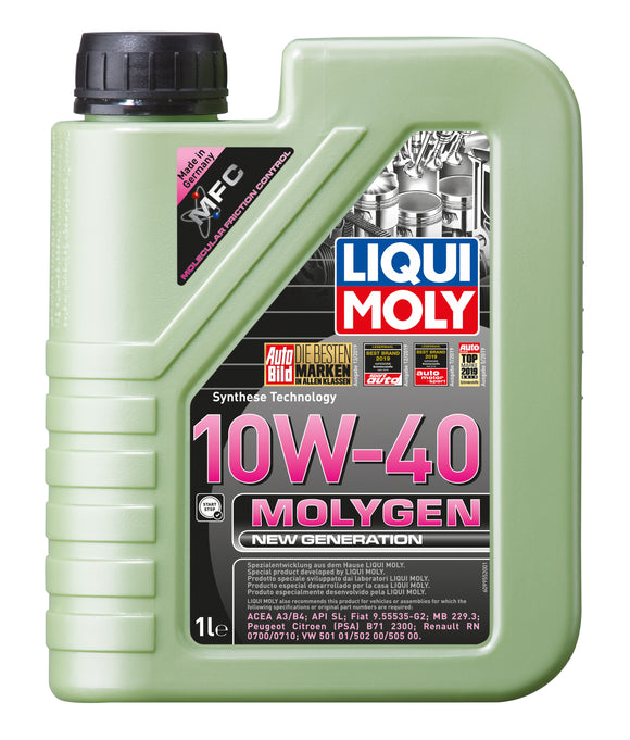 Liqui Moly Motor Engine Oil - Molygen 10W-40