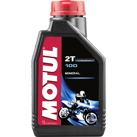 Motul Motor Engine Oil - Bike 100 2T