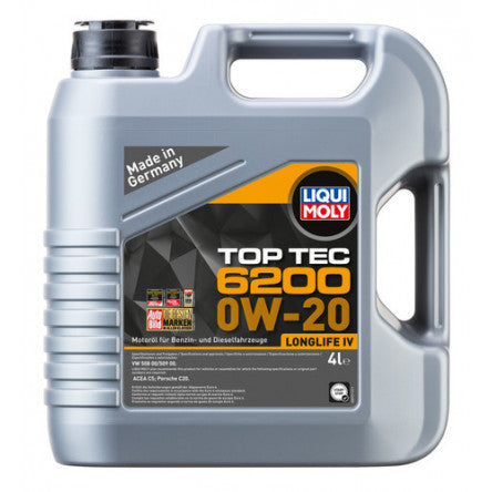 Liqui Moly Motor Engine Oil - Top Tec 6200 0W-20
