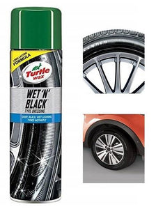 Turtle Wax- Wet N Black Tyre Dressing spray