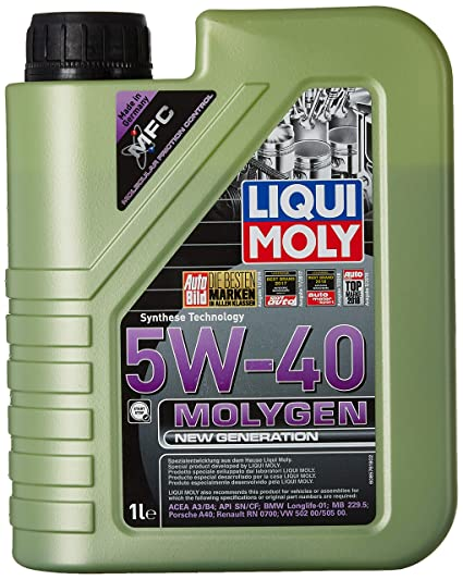 Liqui Moly Motor Engine Oil - Molygen 5W-40